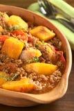 Pumpkin, Tomato, Mincemeat Dish Royalty Free Stock Image