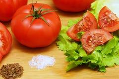 Pumpkin Tomato Stock Image