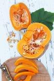 Pumpkin, top view Royalty Free Stock Image