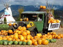 The Pumpkin Truck Royalty Free Stock Photo