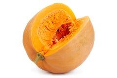 Pumpkin vegetable closeup stock images