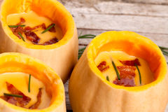 Pumpkin Veloute Stock Photos