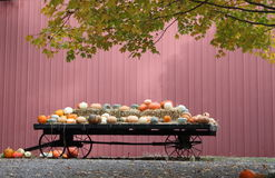 Sell Pumpkin Wagon Stock Photo