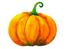 Free Pumpkin Watercolor Painting Illustration Design Hand Drawing Clipping Path Stock Photo - 160634090