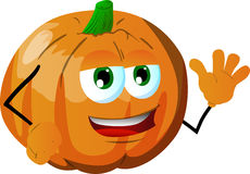 Pumpkin waving Stock Photos