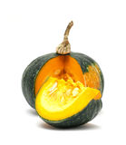 Pumpkin  on white Stock Image