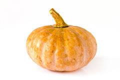 Pumpkin on white background Royalty Free Stock Images