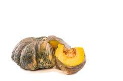 Pumpkin on white background Stock Image