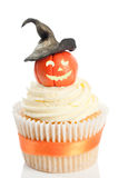 Pumpkin With Witches Hat Stock Images