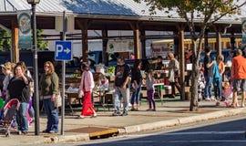 Pumpkinfest на рынке фермеров Салема Стоковая Фотография RF