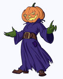 Pumpkinhead Royalty Free Stock Image