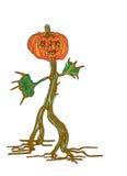 Pumpkinman Royalty Free Stock Photography