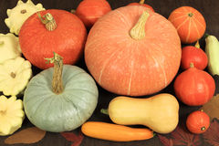 Pumpkins. Royalty Free Stock Photography