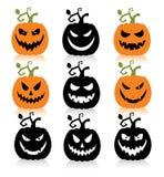 Pumpkins. Royalty Free Stock Photos