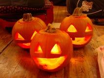 Pumpkins1 Stock Afbeeldingen