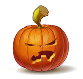 Pumpkins Angry 1 Stock Images