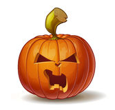 Pumpkins Angry 3 Royalty Free Stock Image