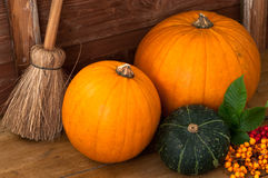 Pumpkins & Berries royalty free stock photo