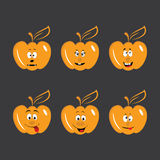 Pumpkins cartoons Stock Photography