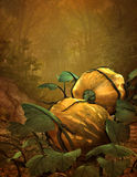 Pumpkins, 3d CG Royalty Free Stock Photography