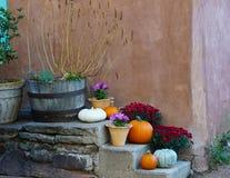 Celebrating the Holidays in Santa Fe stock photos