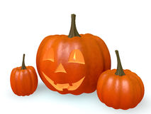 Pumpkins halloween Stock Photography