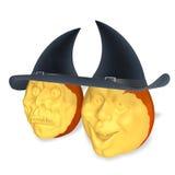 Pumpkins halloween Stock Image
