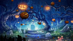Pumpkins. Halloween Background is a HD.  Animated background. Use this background with text, logo or as a animated screen. This animation is great to use in your stock video