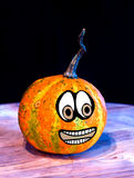 Pumpkins for Halloween with funny friends who play with ghosts -. The famous halloween pumpkins get some nice friends who accompany you to make jokes and ask for Stock Image