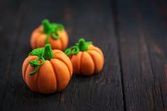 Pumpkins of mastic Royalty Free Stock Photography