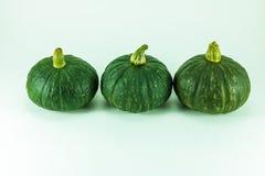 3 pumpkins Royalty Free Stock Photos