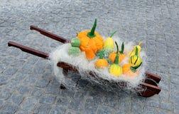 Pumpkins  paper Royalty Free Stock Photo