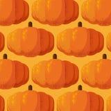 Pumpkins pattern with grain shadow vector illustration