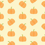 Pumpkins pattern Royalty Free Stock Photography