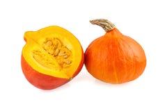Pumpkins red hokkaido Stock Image