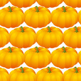 Pumpkins seamless Stock Photo