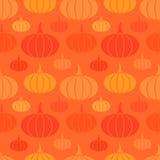 Pumpkins seamless pattern Royalty Free Stock Image