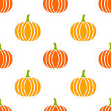 Pumpkins seamless pattern Stock Images