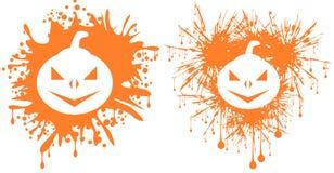 Pumpkins in spot Stock Photos