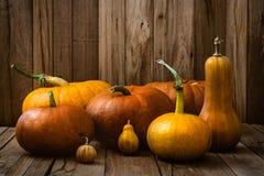 Pumpkins variety Stock Photo