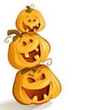 Pumpkins (Vector) Royalty Free Stock Image
