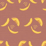 Pumpkins. vector seamless pattern Royalty Free Stock Photo