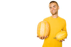Pumpkins for you Stock Image
