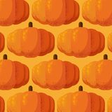 Pumpor mönstrar med kornskugga vektor illustrationer