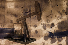 Pumps for oil production Royalty Free Stock Photography