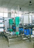 installation of industrial membrane devices Stock Photography