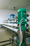 Pumps and piping system Stock Photography