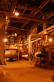 Pumps on power plant. Pumps and pipes on power plant Royalty Free Stock Photography