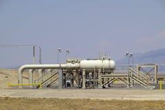 pumpstation Arkivbilder