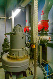 Pumpstation des Abwassers, Tel Aviv Stockfoto